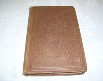Enoch Arden &c. by Alfred Tennyson 1864 Antique Poetry Book Tennyson Poetry HC Vintage