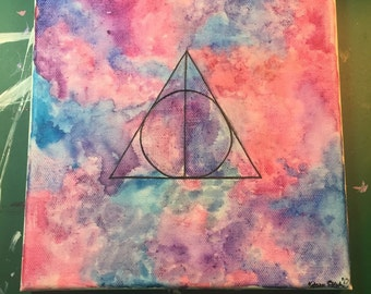 Harry Potter and The Deathly Hallows Painting