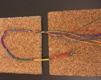 Colorful Adjustable Peruvian Friendship Bracelet〚F R E E 「」 S H I P P I N G〛