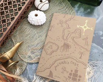 Treasure Map Single Everyday Journal