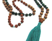 Sandalwood meditation mala