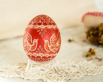 Pysanky, Pysanka, Easter Eggs,  Pysanky Eggs, Easter Decor, Carved Egg, Collectibles