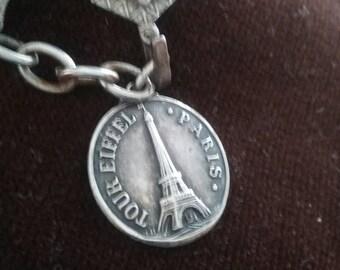 Vintage French Memorabilia/French Charm Bracelet/Grand Tour/Souvenir Bracelet/VINTAGE Charm Bracelet/Vintage French Souvenir/Francophile
