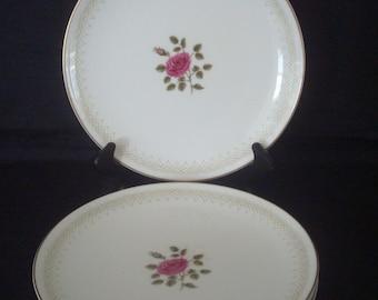 "Royal Doulton ""SWEETHEART ROSE"" - Set of 4 Salad Plates - Lovely!"