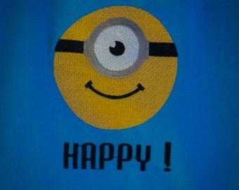 The Happy Minion Head Tote Bag