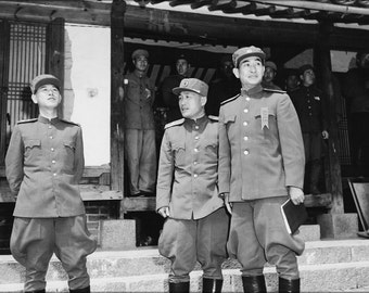 24x36 Poster . Korean War Peace Talks. Kaesong, Korea 1951