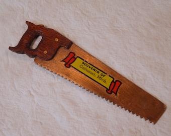 Copper Saw Souvenir from Calumet Michigan