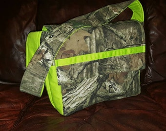 Mossy Oak Camo Diaper Bag, Realtree Camoflauge Diaper Bag, Max 4 Diaper Bag, Realtree Embroidered Diaper Bag, Custom Diaper Bag
