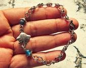 Stingray Bracelet, Stingray Jewelry, Sea Life Jewelry, Sea Life Bracelet, Ocean Bracelet, Ocean Jewelry, Unique Gift For Marine Biologist