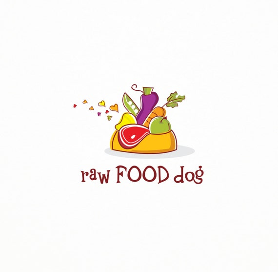 Premade Raw Food for Dogs Logo Vegetables Logo Pet Care
