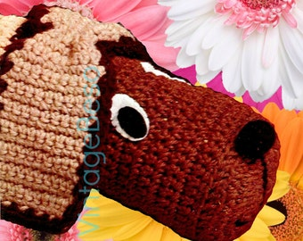 Attractive INSTANT DOWNLOAD   PDF Pattern   Draft Stopper CROCHeT PATTeRN 1970s Doggie Door  Stopper Dachshund Draught