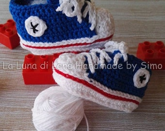 Converse Shoes for babies to crochet