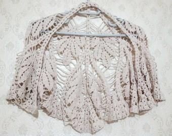 Shawl Triangle Shawl Neckwarmer Scarf Crochet Shawl Handmade Shawl
