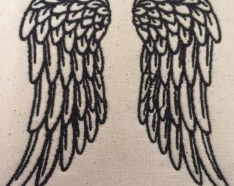 Angels Wings Outline
