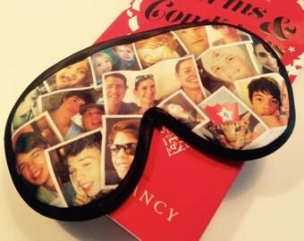 photo collage eye mask