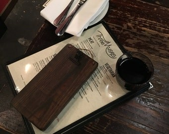 NEW! Check Presenters-Bar Menu Holder-Menu Holder-Restaurant-Note Holder-Small Recipe Holder-Clipboard-Stained-Waterproof