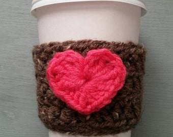 Crocheted Cup Sleeve
