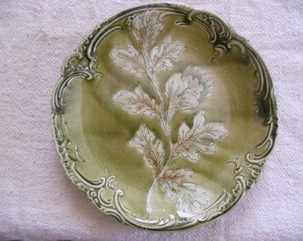 Antique German plate