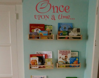 Once Upon a Time Decal Wall Decal Sticker