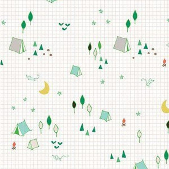 Crib Sheet >> Greatest Adventure Camp in Multi >> READY-to-SHIP woodland baby bedding, forest toddler sheet set, bassinet sheet, mini crib