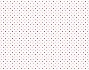 Red Swiss Dot by Riley Blake C660-80