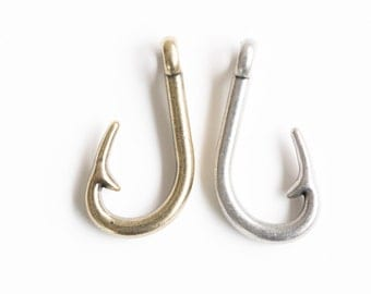 Big fish hook etsy for Giant fish hook