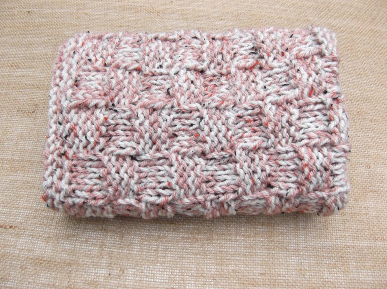 Knitting Pattern Travel Blanket : Hand Knitted Baby travel blanket lap blanket car seat with