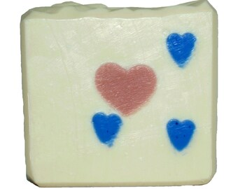 Hearts -- Sublimely Handcrafted Cold Process Soap