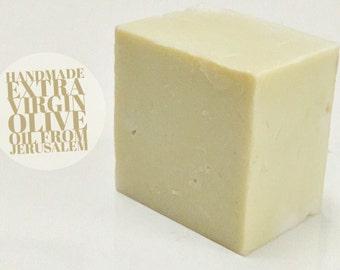 Aelia Organic Extra Virgin Olive Oil Castile Soap , Cold Pressed & Handmade In Jerusalem