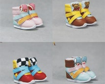 SK Couture Ankle Sport Shoes for Blythe Pullip Poppy Dal Momoko Lati Yellow Azone