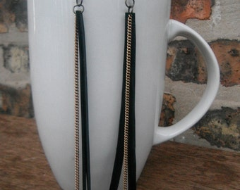 Dangle Bike Tube Earrings