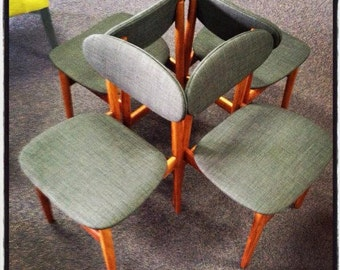 Original retro vintage chairs (4) *FREE DELIVERY in AUSTRALIA*