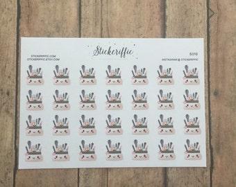S310  Kawaii Makeup Bag Stickers