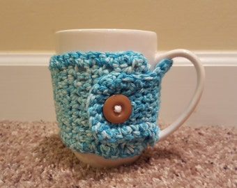 Crocheted Coffee Cup Cozy