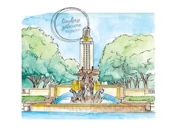 University of Texas print