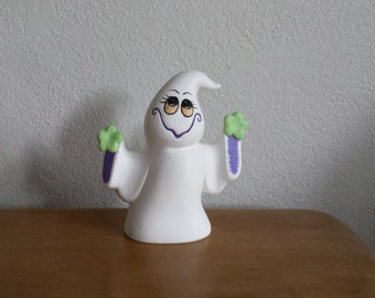 Ceramic Small Ghost Standing (#698)