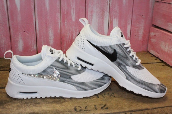 pretty nice f344a 70337 best SALE SIZE 7 Swarovski Nike Air Max Thea Running by ShopPinkIvy