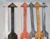 """The """"Nevéa"""" reclaimed wooden arrow"""
