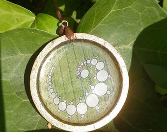 Crop Circle Pendant