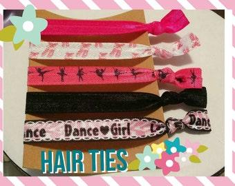 Dancer Elastic Hair Ties