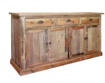 Sideboard, Buffet, Reclaimed Wood, Console Cabinet, Media Console, Handmade, Rustic