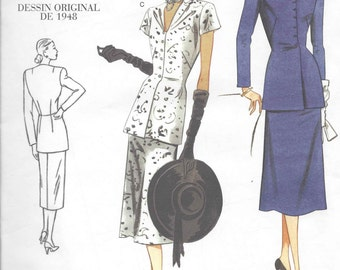 Vogue Vintage Blouse/Skirt pattern OOP  Size 12-14-16-18