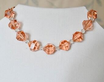 1950s Bohemian Old Swarovski Crystal Necklaces