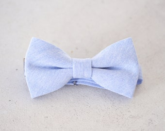 Powder Blue Bow Ties