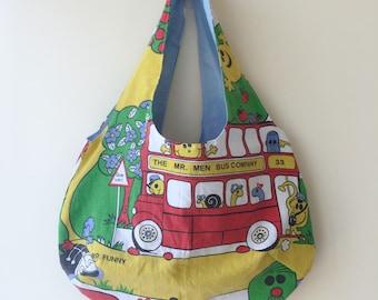 Handmade Shoulder Bag Inspired by Mr Men