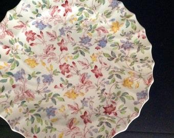 Spode Copeland Dinner Plate Morning Glory Pattern