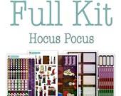 FULL KIT: Hocus Pocus/Sanderson Sisters Planner Stickers