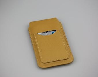 Leather phone sleeve, Leather IPhone 6/6s plus, Iphone 7 plus sleeve