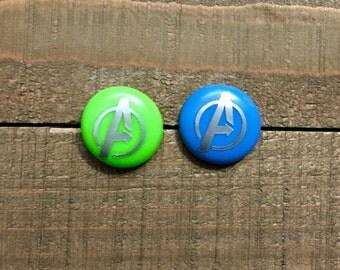 Marvel Avengers Logo Earrings