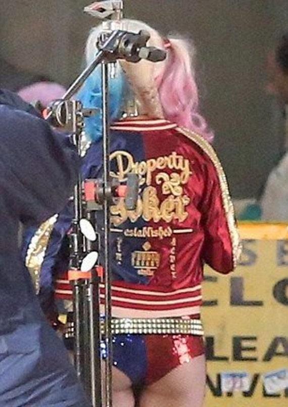 Suicide Squad Harley Quinn S Jacket Logo Design
